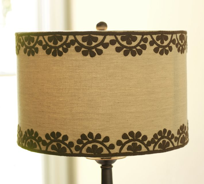 Pottery Barn Medina Lamp Shade: Dionne Designs: Your Personal Shopper