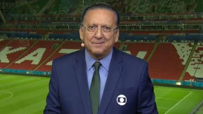 Galvão Bueno sofre mal-estar e é hospitalizado; Luis Roberto fará final da Libertadores