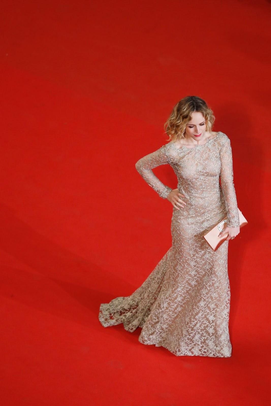 Full HQ Photos of Italian Actress 'Tatiana Luter' Il Racconto Dei Racconti Premiere At 2015 Cannes Film Festival