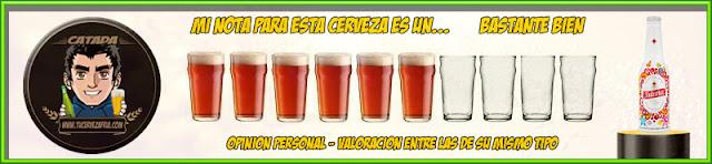 Cerveza ISLEÑA valoración