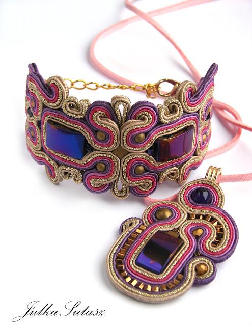 *Bollywood II* Bracelet & Pendant