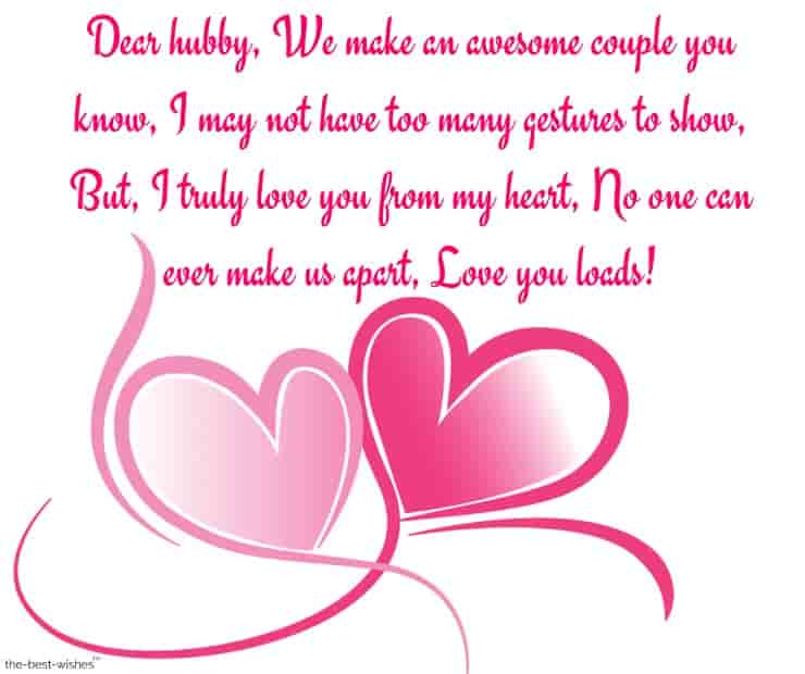 special good morning message for husband