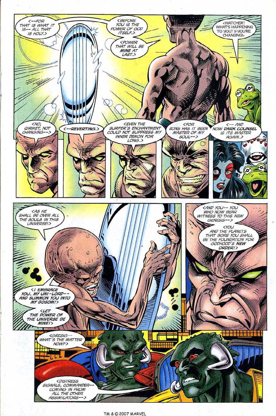 Read online Silver Surfer (1987) comic -  Issue #121 - 13