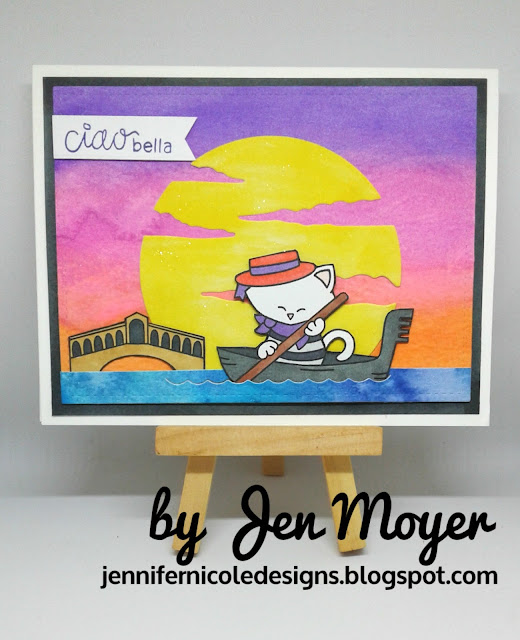 Ciao Bella by Jen features Newton Dreams of Italy by Newton's Nook Designs; #newtonsnook