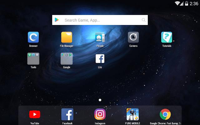 تحميل افضل برنامج لتشغيل تطبيقات الاندرويد علي الكمبيوتر Nox App Player