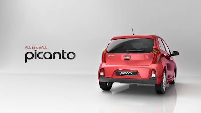 KIA Picanto rear looks image