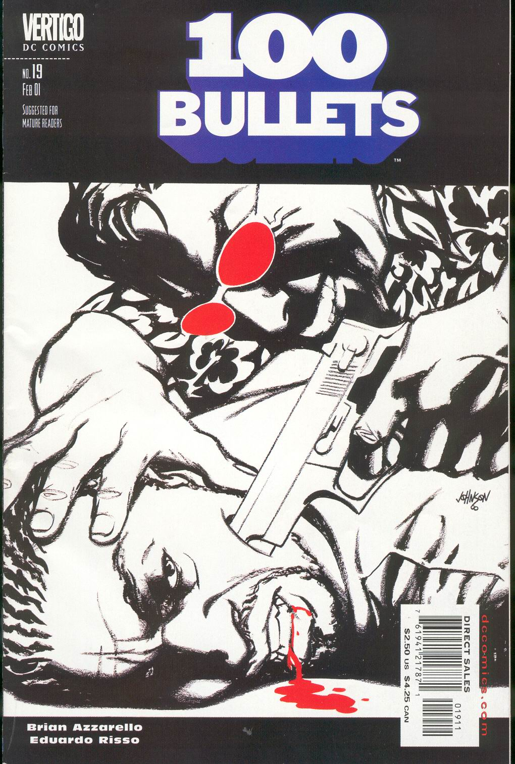 Read online 100 Bullets comic -  Issue #19 - 2
