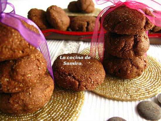 Almendrados de chocolate