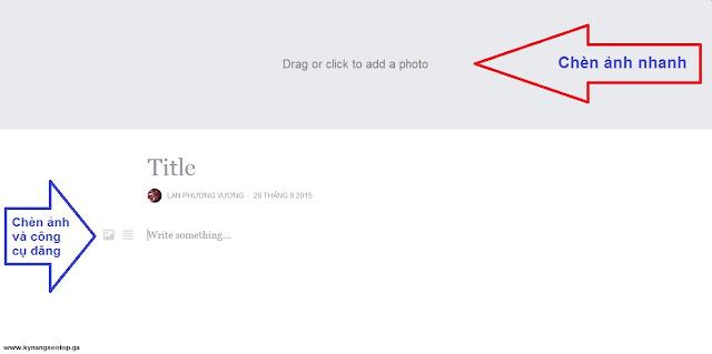 Chèn ảnh và sử dụng công cụ notes facebook dễ dàng