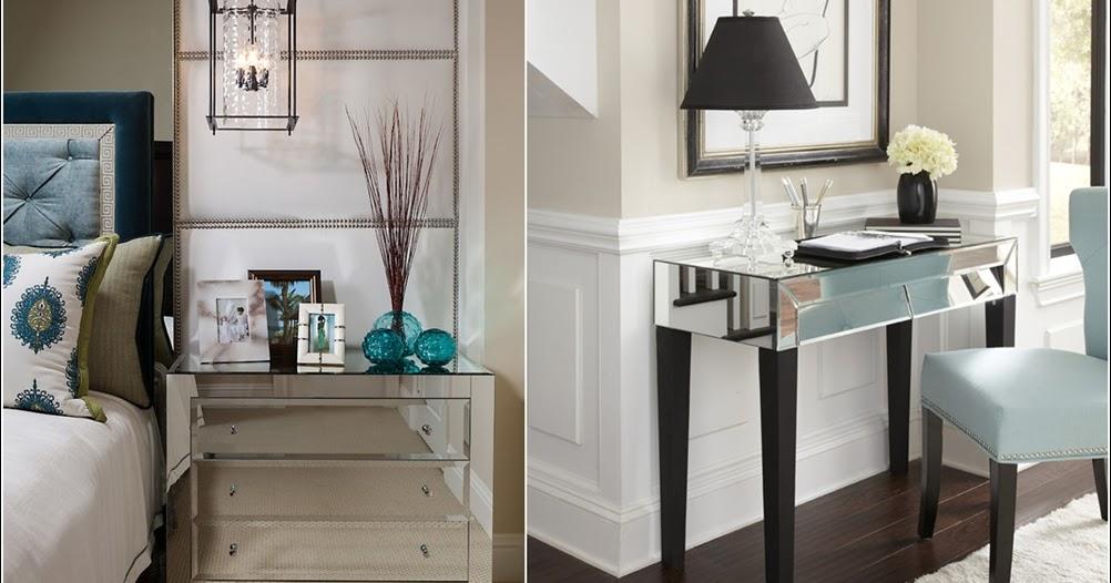 Fascinantes Décorations Avec Des Meubles Miroirs !  Décor