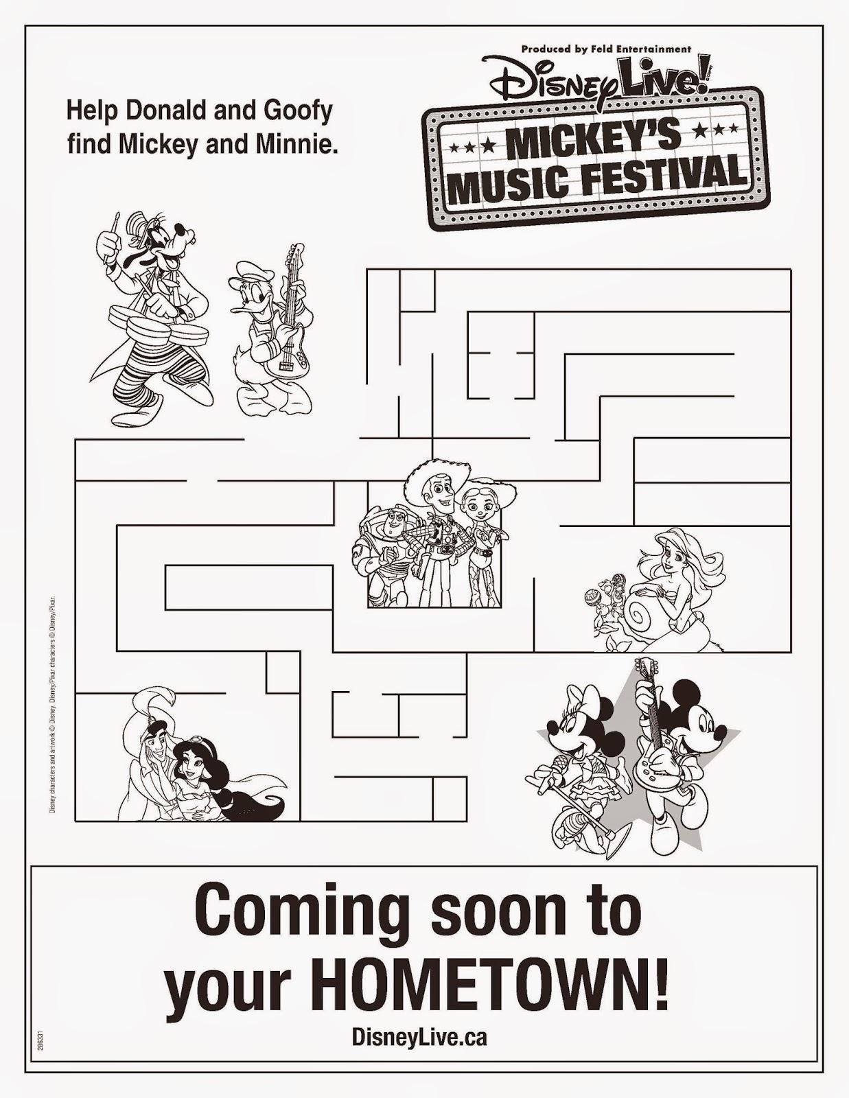 Tales of Mommyhood: Disney Live! Mickey's Music Festival
