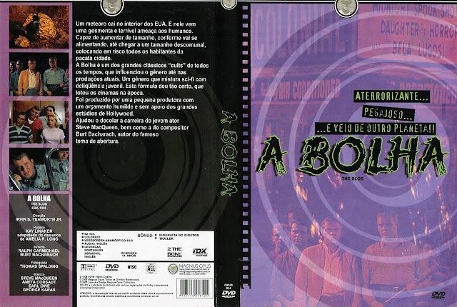 Capa DVD A Bolha (1958)