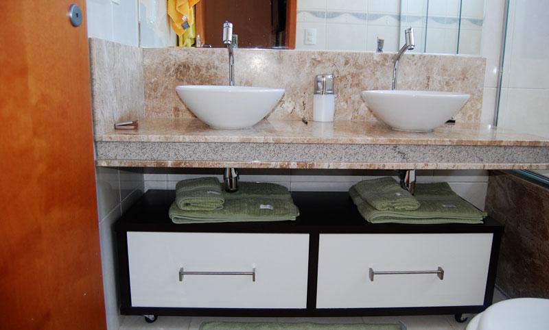 Arquitetura dos Móveis 20160424 # Armario De Banheiro Planejado Com Gavetao