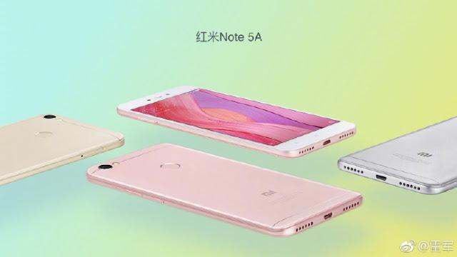Redmi Note 5A Akan Dibuat Resmi Minggu Depan