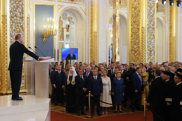 For Putin's 4th Term, More a Coronation Than an Inauguration