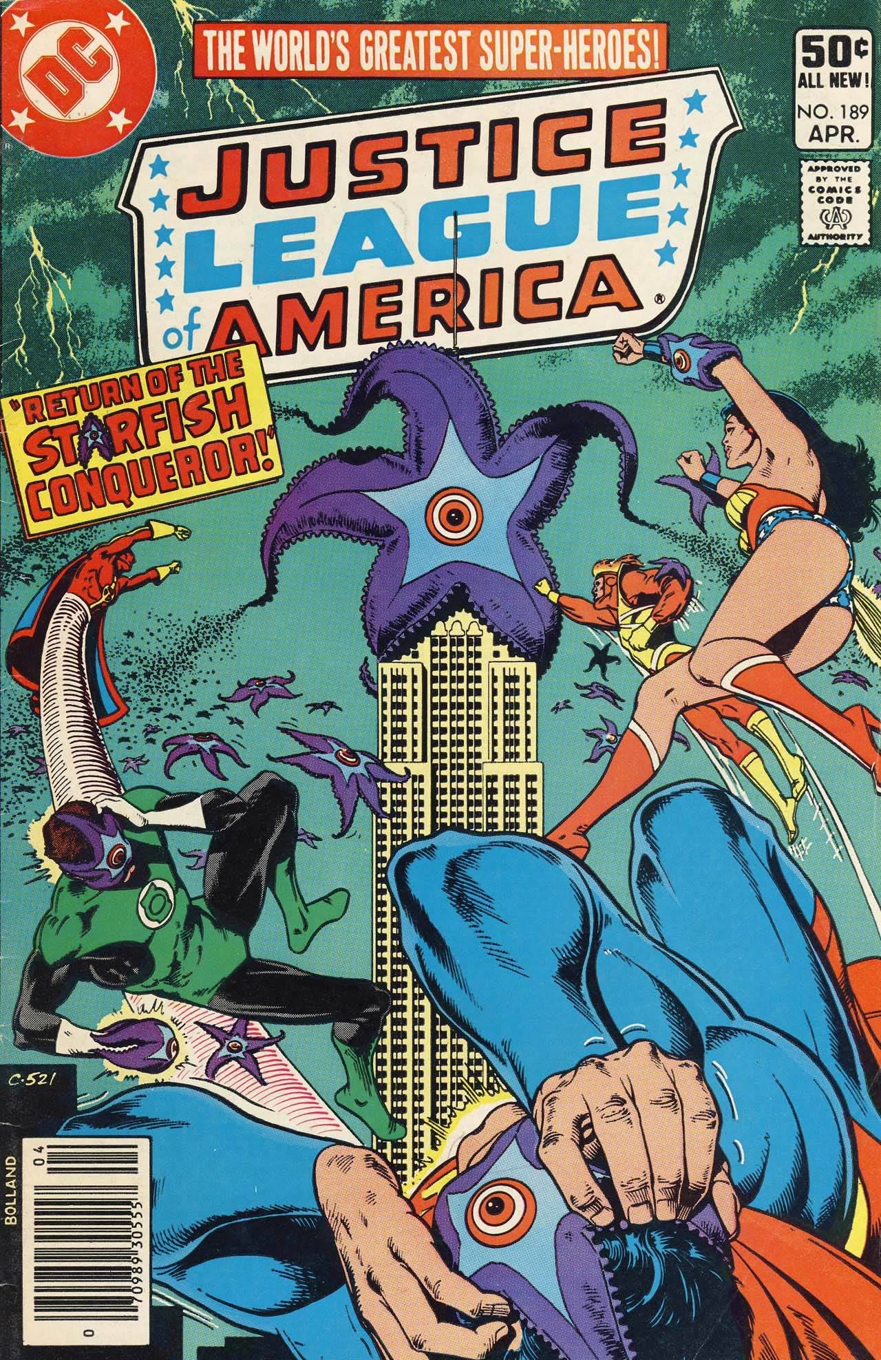 Justice League of America (1960) 189 Page 1