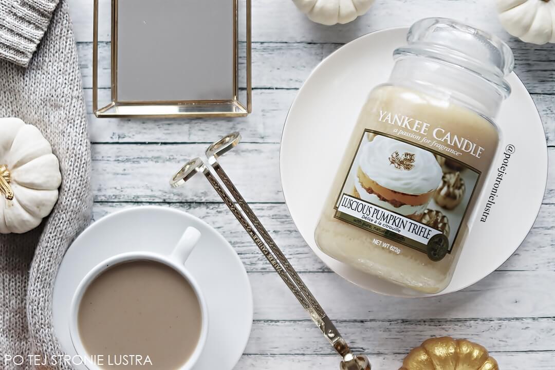 yankee candle luscious pumpkin trifle jesień 2018