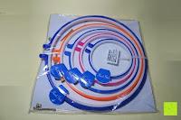 Verpackung: 5 Teiliges Handi-Stitch Stickrahmen und Kreuzstich Set– 12,7 bis 28 cm ( Größen (28cm, 24cm, 20,5cm, 16,5cm & 12,7cm) – Verschiedene Farben