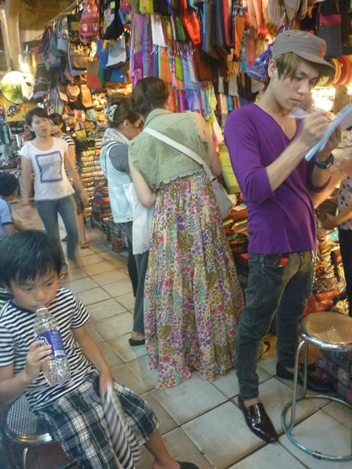 ベトナム雑貨の買付け