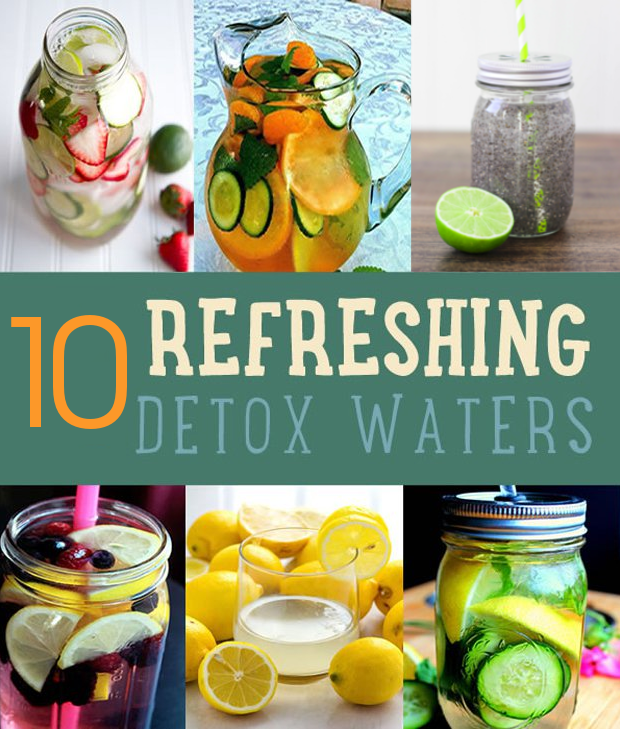 10 Refreshing Detox Waters