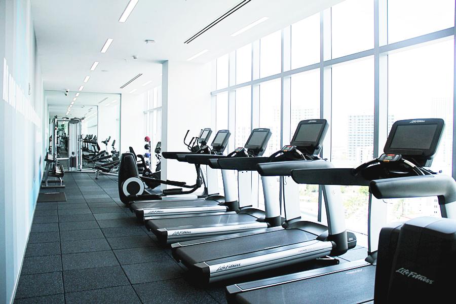 fitness room hotel miami gym