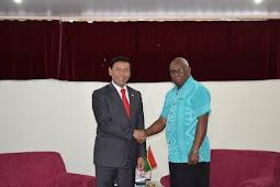 Temui Presiden Vanuatu, Wiranto: RI Bukan Penjajah Papua