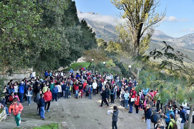 Αργολίδα: Περισσότεροι από 250 περιπατητές, ορειβάτες, και ποδηλάτες έκαναν σεργιάνι στο φαράγγι της Κουμαριάς