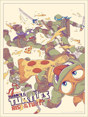 Teenage Mutant Ninja Turtles: Rise of the Turtles Standard Edition Screen Print by JJ Harrison x Mondo