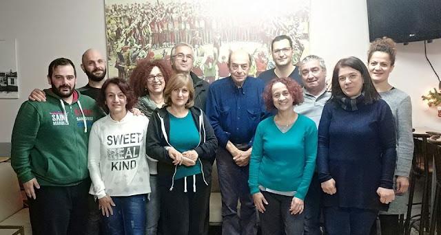 Με το Σύλλογο Ποντίων Ξάνθης συναντήθηκε ο Μ. Μανουσάκης