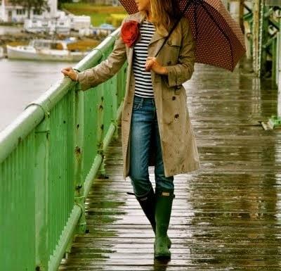 Look para días de lluvia