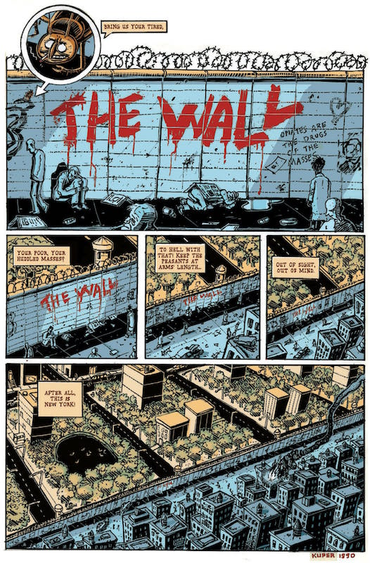 The Wall, by Peter Kuper.