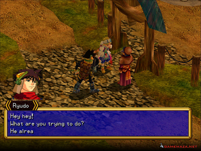 Grandia II Anniversary Edition Gameplay Screenshot 2