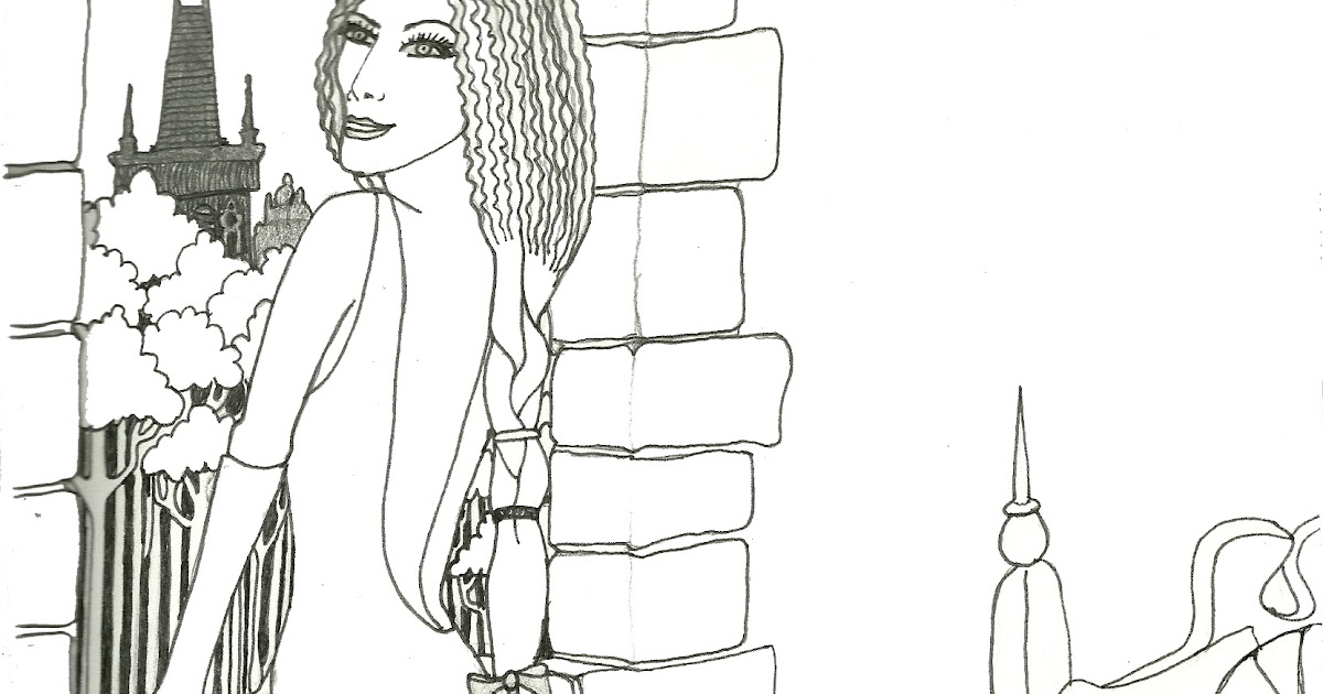 Oh Dali Give Us Strength: Initial Drawings For Rapunzel