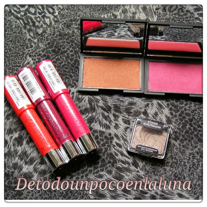 coloretes sleek y power pout mua
