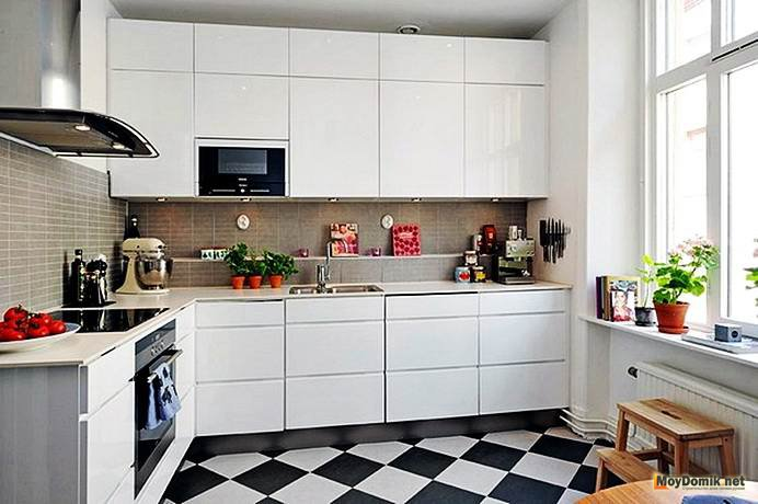Sangat Keren Inilah 17 Desain Dapur Minimalis Nuansa Hitam Putih
