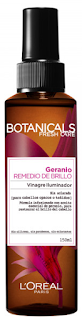 L'Oreal Botanicals Fresh Care opinion geranio vinagre