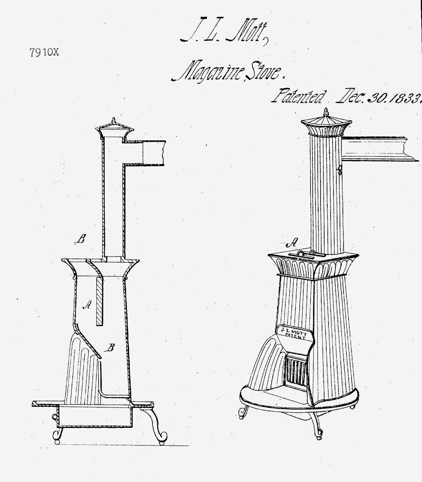 A Stove Less Ordinary: Jordan Mott's Anthracite Stoves