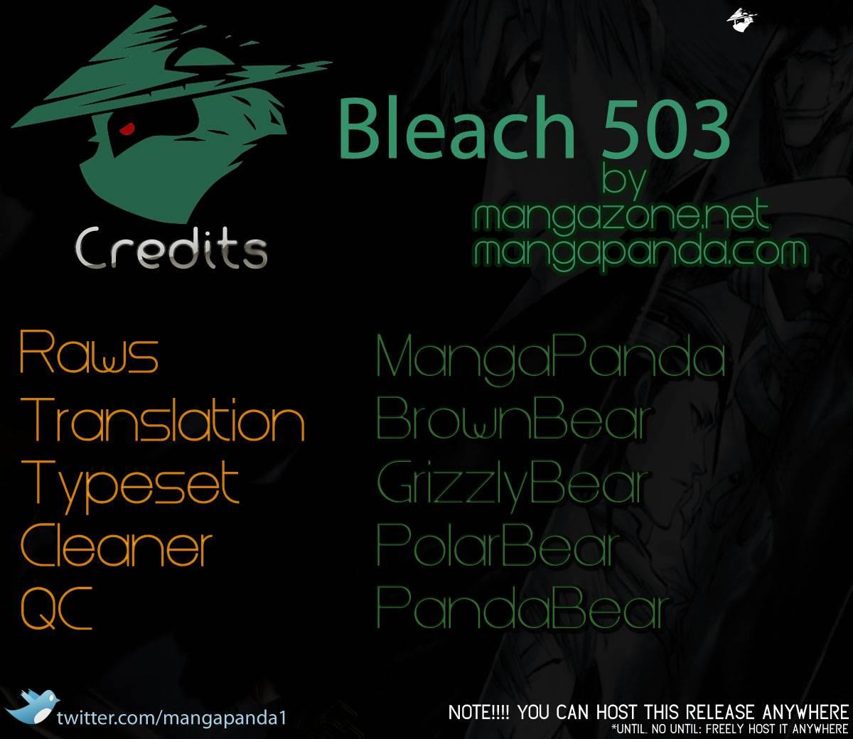 Bleach chapter 503 trang 18