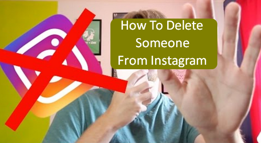 How To Delete Someone From Instagram