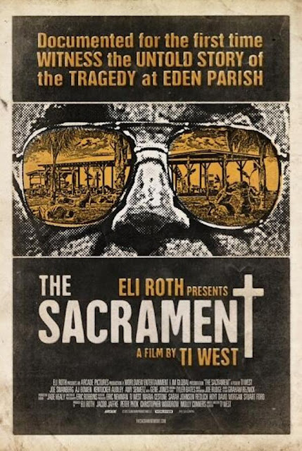 The Sacrament 2013 Ti West horror movie poster