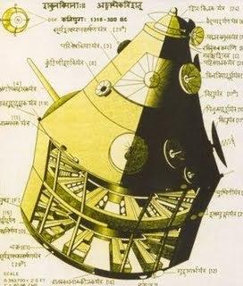 Διάγραμμα ενός αρχαίου Vimana