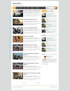 Ramai Blogger Template Sugeng.id