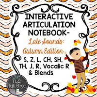 https://www.teacherspayteachers.com/Product/Interactive-Articulation-Notebooks-Later-Sounds-Autumn-Edition-1982070