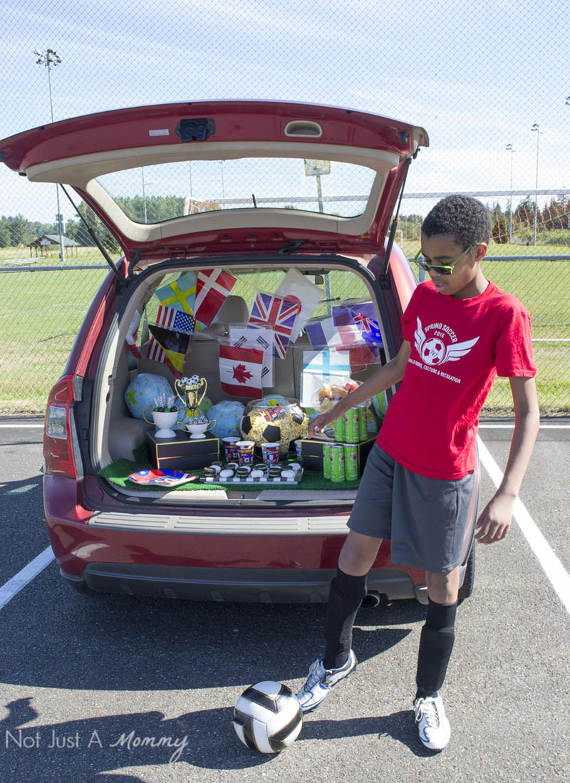 How to host a Soccer Tailgate Party