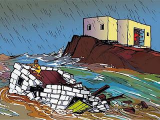 la casa sobre la roca parabola