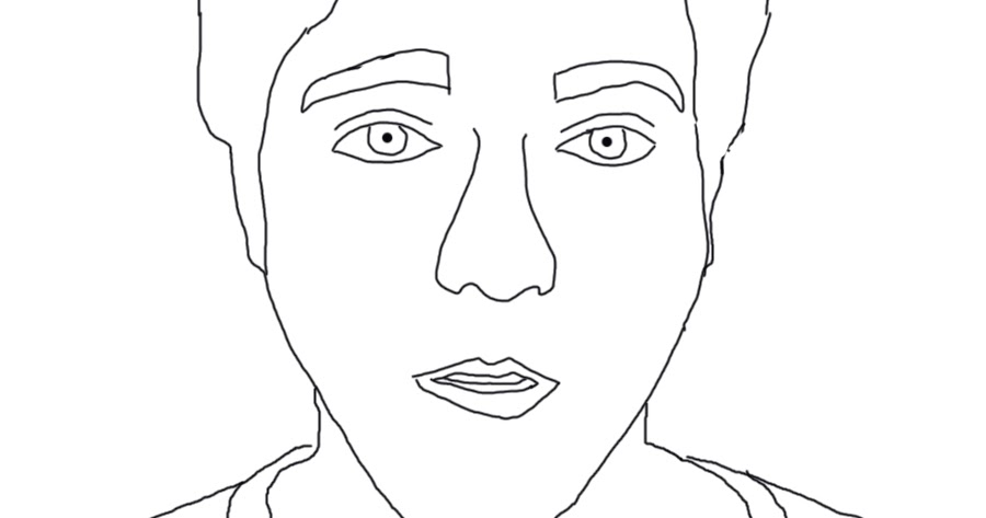 kathryn simmons digital art2: shane dawson coloring page