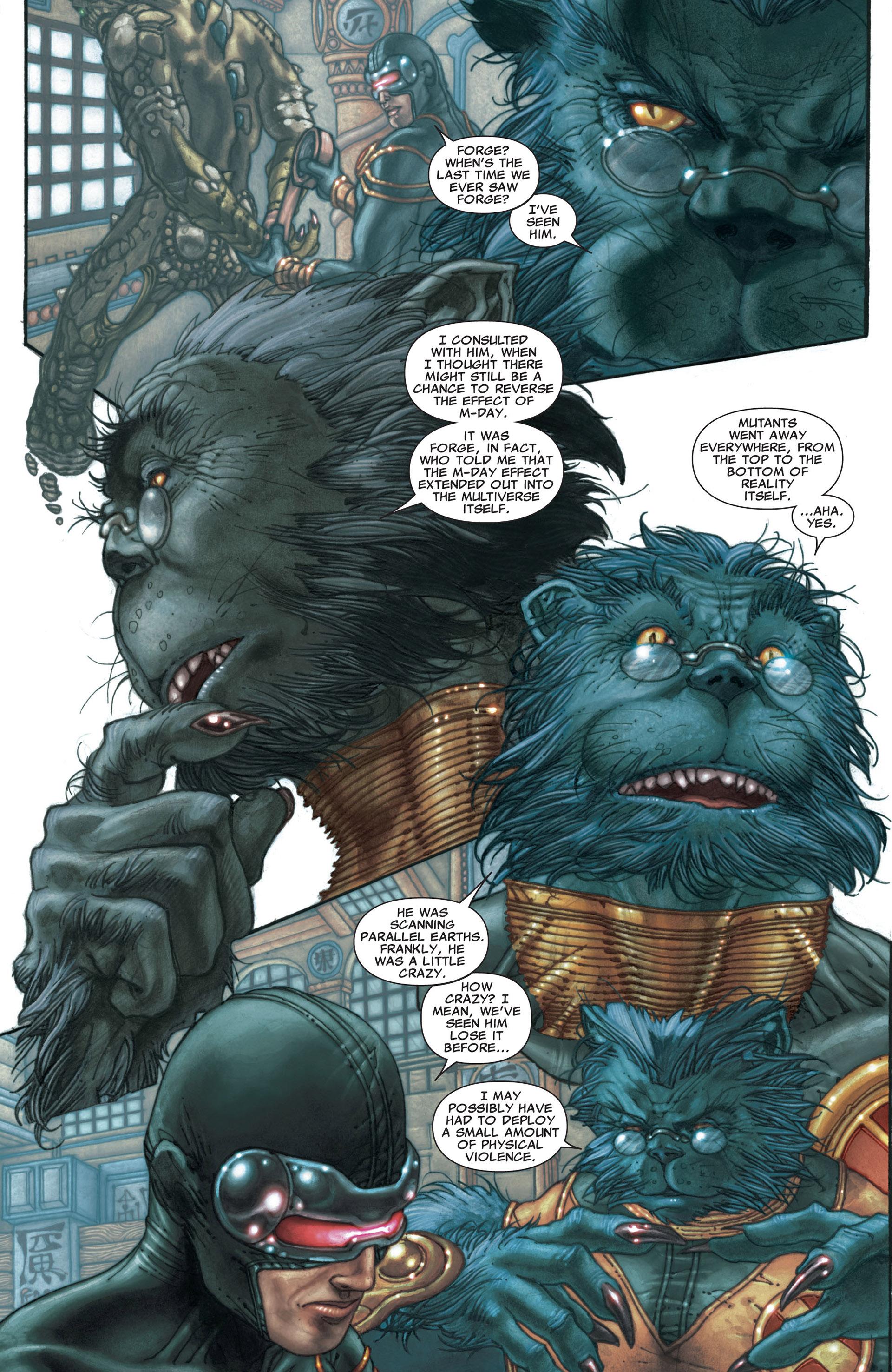 Read online Astonishing X-Men (2004) comic -  Issue #29 - 5