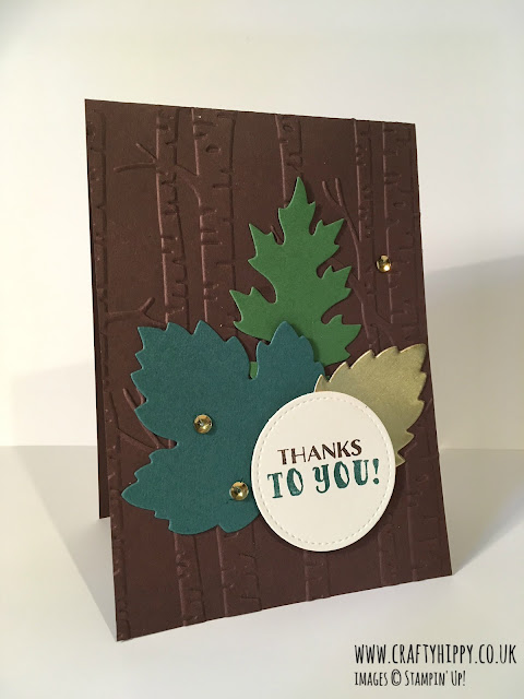 Look at the Woodland Textured Impressions Embossing Folder by Stampin' Up! Available to order online in the UK.