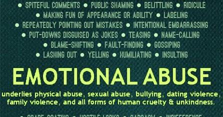 Emotional cruelty
