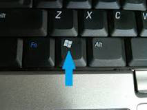 Window key button